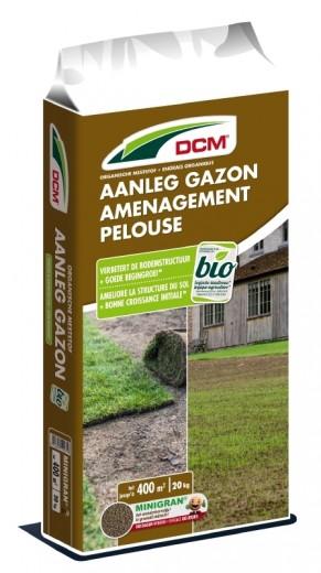 DCM Meststof Aanleg Gazon 20 kg (Gazonbemesting voor 200 / 400 m2)
