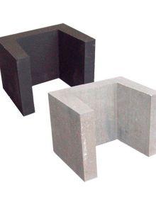 Betonnen U-element 40x40x50 cm (LxDxH)