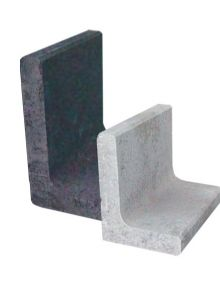 Betonnen L-element 50x50x80 cm (LxDxH)