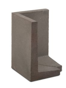 Betonnen L-hoekelement 50x50x80 cm (LxDxH)