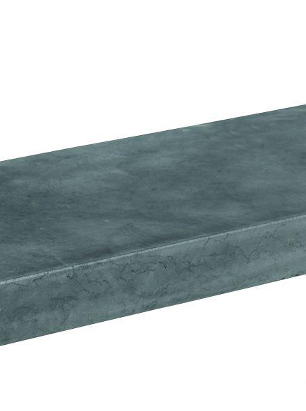 Vietnamese hardsteen vijverrand 100 cm (grof geschuurd)