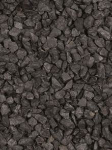 Basalt brokjes zwart 56-75 mm