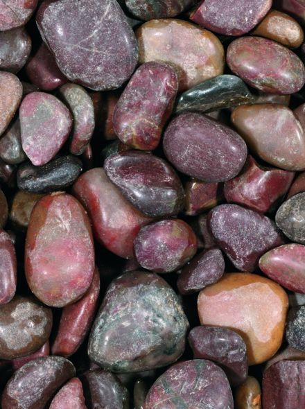 Glitter stone red 10-30 mm
