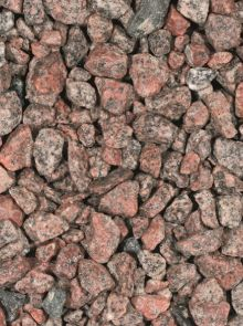 Granietsplit rose/rood 8-16 mm