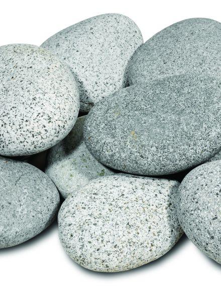 Beach Pebbles grijs (platte keien)