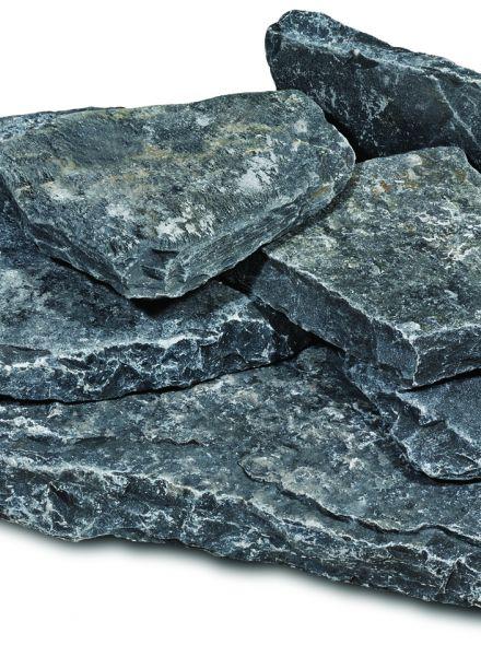 Karia pebbles black (kalksteen)