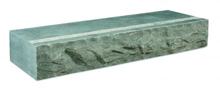 Bloktrede spotted bluestone 100x35x15 cm, breukruw
