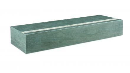 Bloktrede spotted bluestone 100x35x15 cm, gezoet