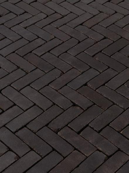Gebakken dikformaat 20x6,5x6,5 cm Terra carbona antica