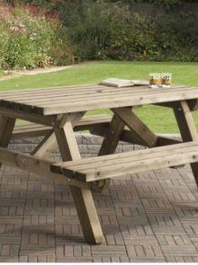 Talen | Picknicktafel | 150 x 150 cm