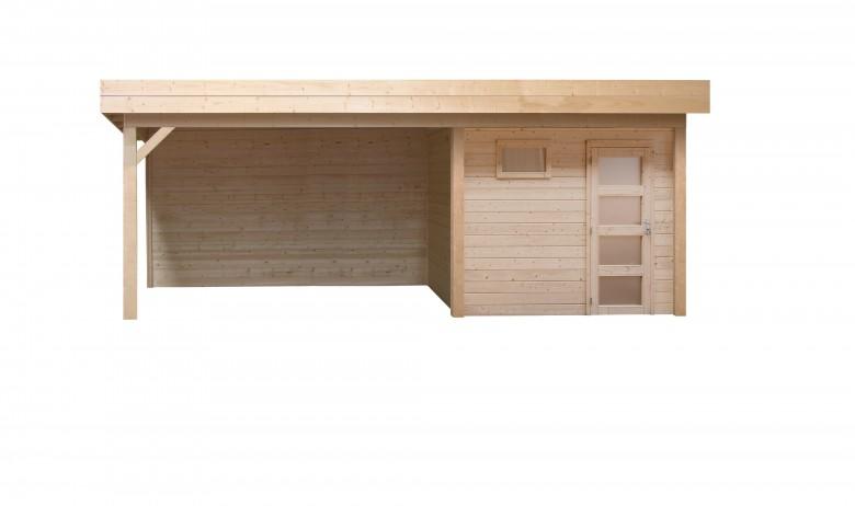 Topvision | Blokhut Kiekendief met zijluifel 300 cm