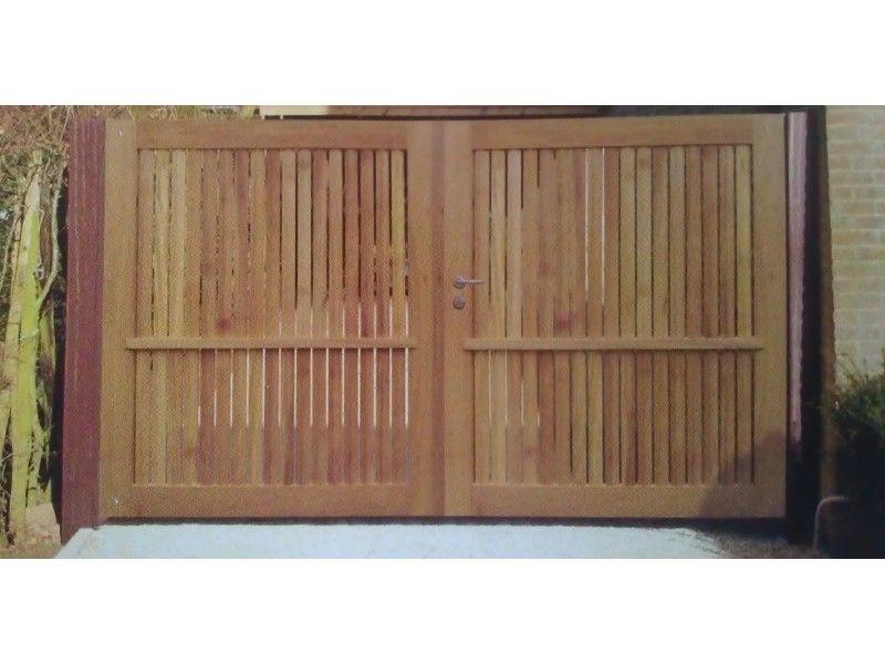 Gardival   Sierpoort Preston   180x100 cm   Iroko