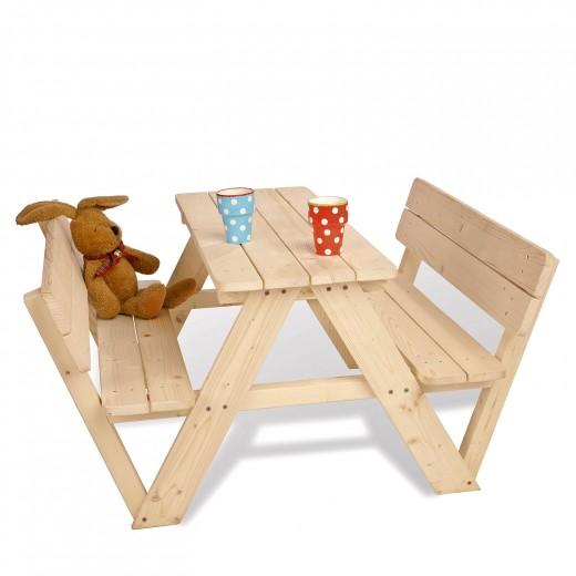 Kinderpicknicktafel | Nicki met leuning