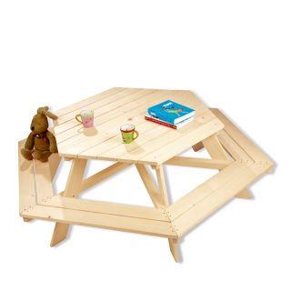 Kinderpicknicktafel | Nicki zeshoek