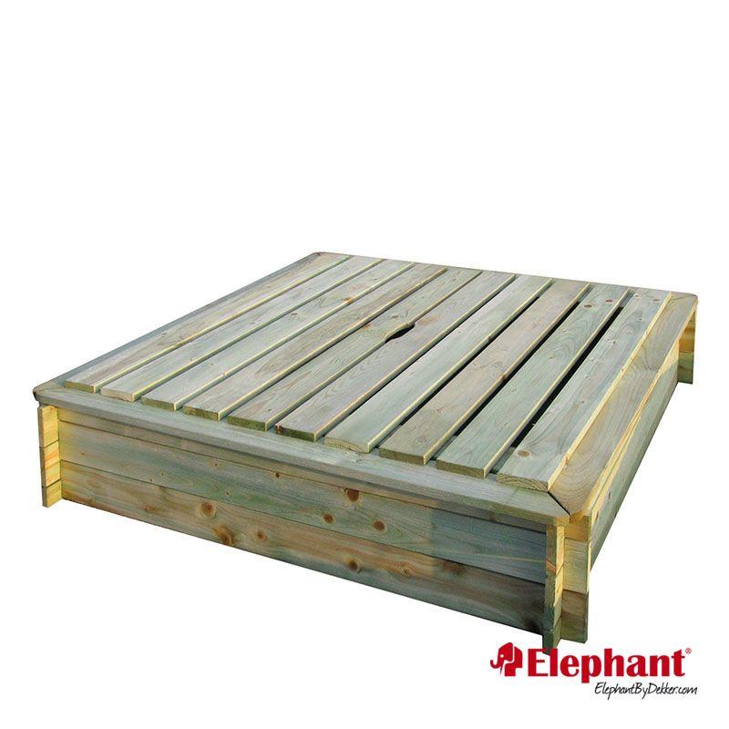 Elephant | Zandbak | 120x120 cm
