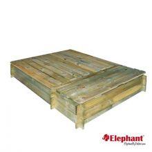 Elephant | Zandbak met opbergvak | 120x160 cm