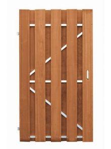 CarpGarant | Bangkirai | Deur op stalen frame Universeel | 180 x 100 cm