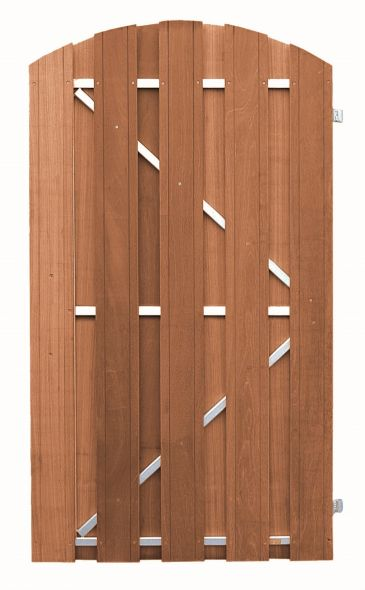 CarpGarant | 1585R | Toog deur stalen frame rechts | 180 x 100 cm