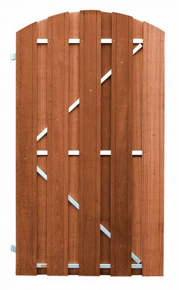 CarpGarant | 1585L | Toog deur stalen frame links | 180 x 100 cm