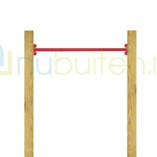 NuBuiten | Enkel Duikelrek 125 | Rood