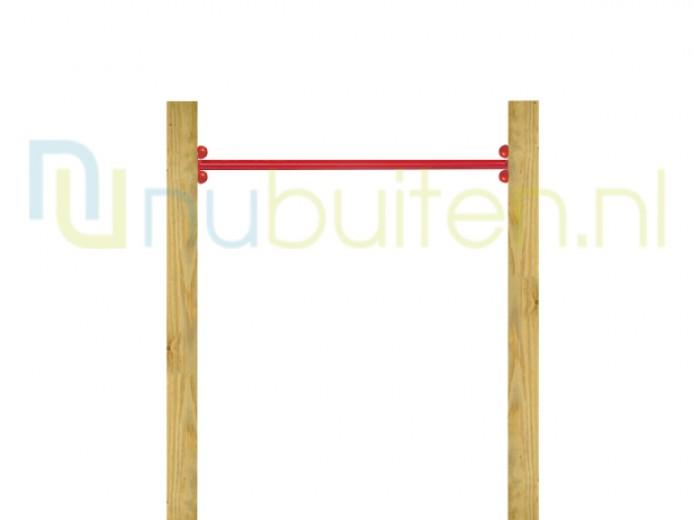 NuBuiten | Enkel Duikelrek 90 | Rood