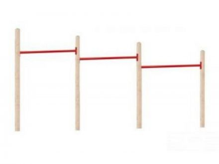 NuBuiten   Triple Duikelrek 125   Rood