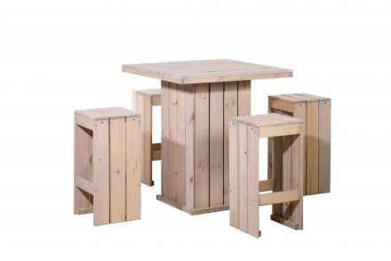 Woodvision | Bartafel set