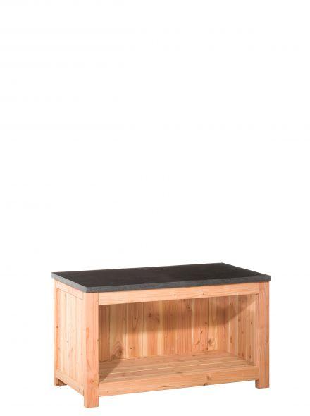 Woodvision | Douglas buitenkeuken element | Dubbel 60