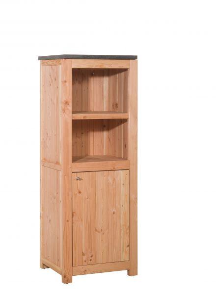 Woodvision | Douglas buitenkeuken element | Enkel 168 met deuren