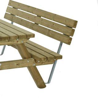 Van Talen   Rugleuning tbv picknicktafel 180 cm