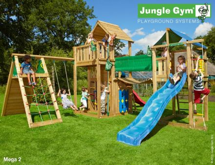 Jungle Gym   Speelparadijs Mega 2 DeLuxe