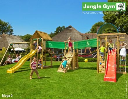 Jungle Gym   Speelparadijs Mega 3 DeLuxe
