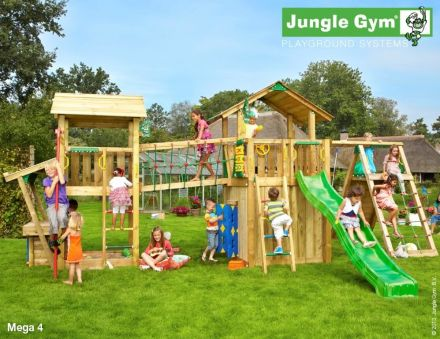 Jungle Gym   Speelparadijs Mega 4 DeLuxe