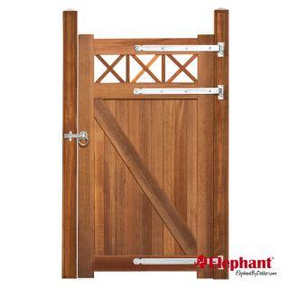 Elephant | Belmonte enkele poort met trellis | 100x180 cm