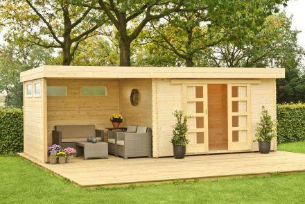 Outdoor Life Products   Buitenverblijf Xavier met luifel   Links 300