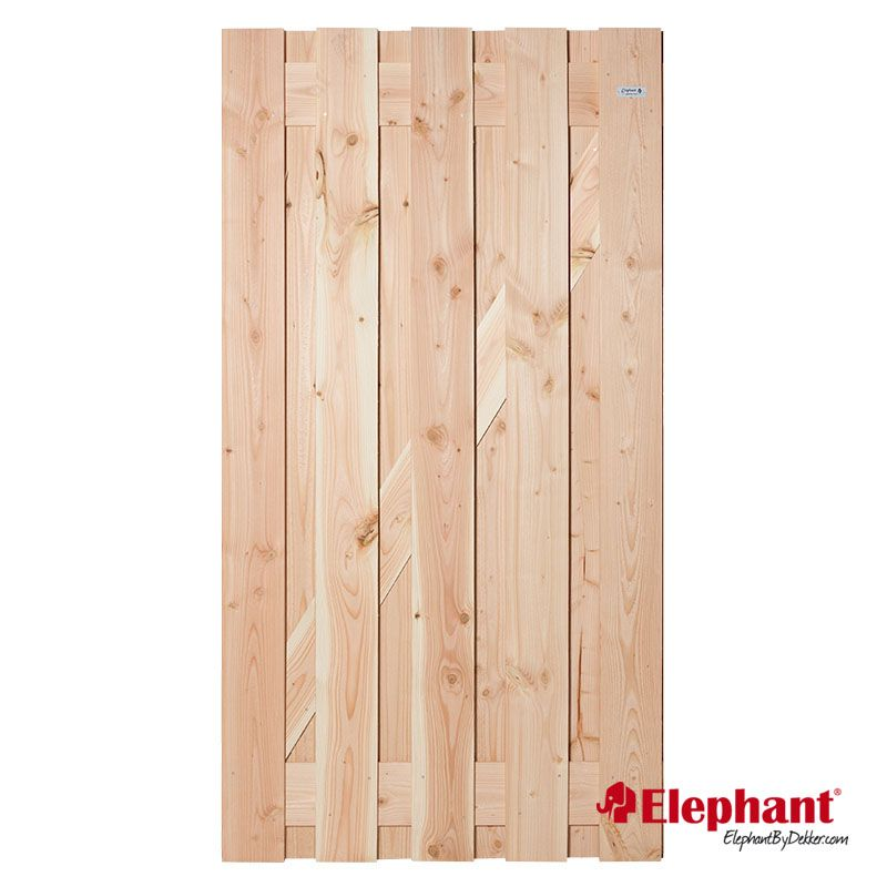 Elephant | Timber XL tuinpoort | 100x200 cm | Douglas