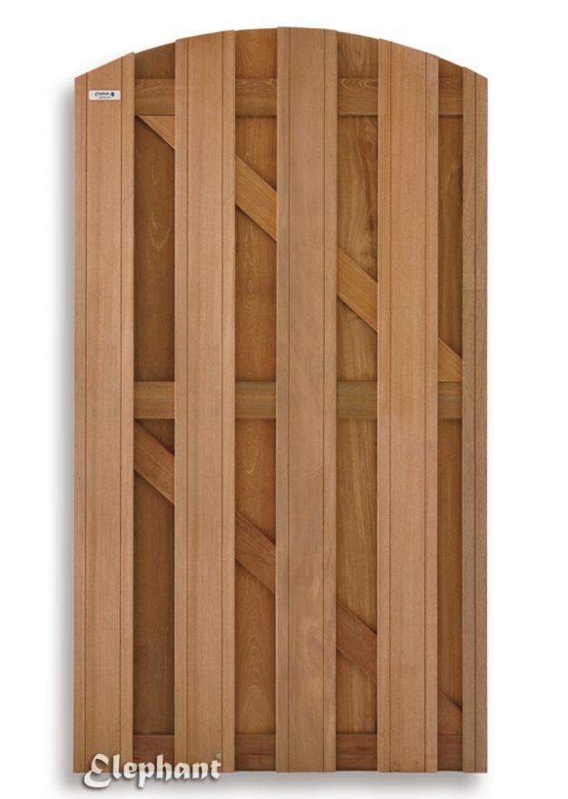 Elephant | Timber schuttingpoort toog | 100 x 180 cm