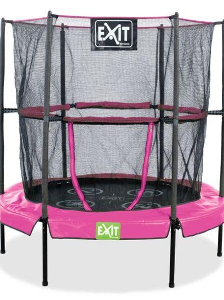 EXIT | Bounzy Mini Trampoline (1.40m) Pink
