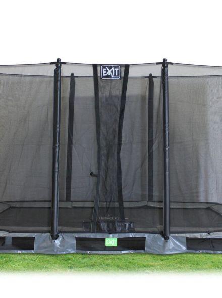 EXIT | InTerra Rectangular 214x366 (7x12ft) Grijs + Contour Safetynet 214x366 (7x12ft)