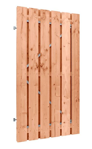 Carpgarant | Douglas poort | Universeel | op stalen frame fijnbezaagd | 100 x 190cm