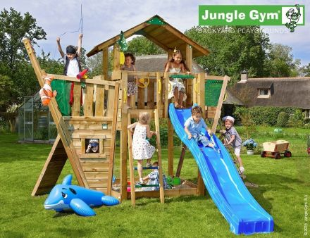Jungle Gym   Chalet + Boat Module   DeLuxe