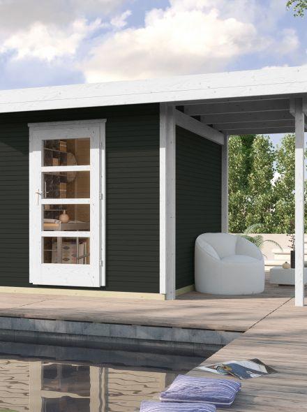 WEKA | Designhuis 'wekaLine' 172A Gr.1 | Antraciet