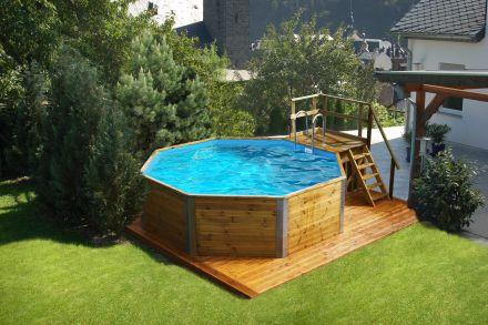 WEKA | Zwembad 593B Gr.1 | 376x467 cm | Voordeelset