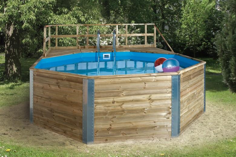 WEKA | Zwembad 593B Gr.2 | 471x571 cm | Voordeelset