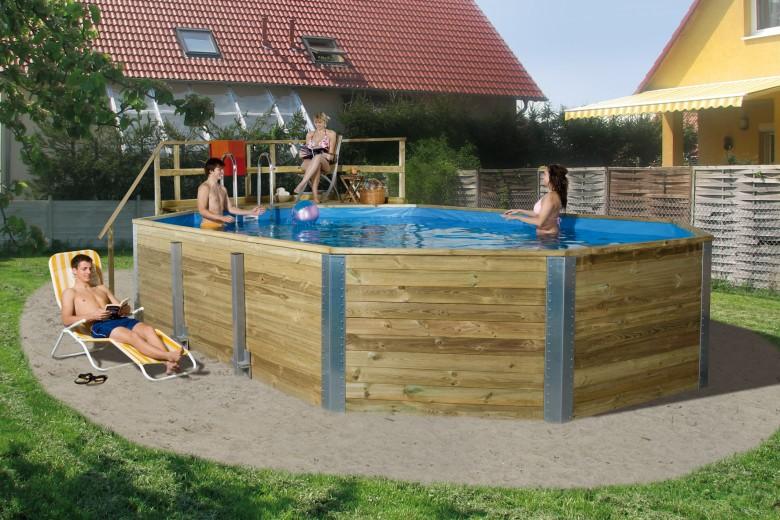 WEKA   Zwembad 594 Gr.2   376x850 cm   Voordeelset
