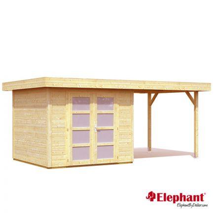 Elephant | Tuinhuis Modern XL | 487 x 250 cm