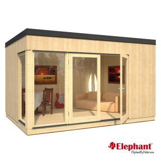 Elephant | Tuinhuis Modular | 449 x 326 cm