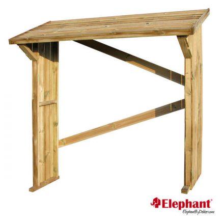 Elephant | Haardhout berging | 74x180x174 cm