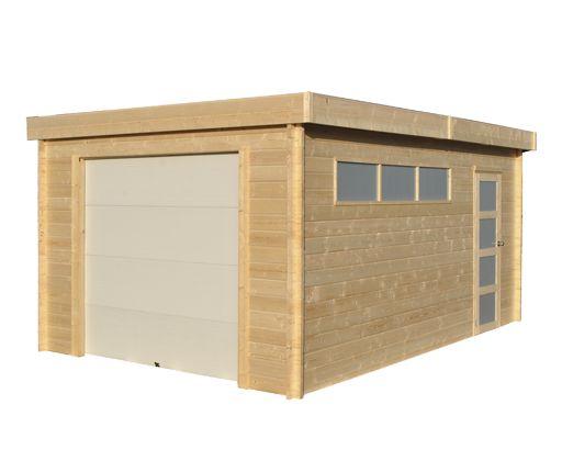 Gardenas   Garage Modern 385x565 cm