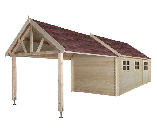 Gardenas   Garage Coventry XL 320x870 cm